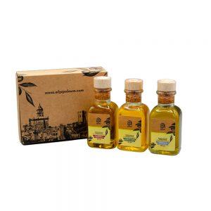 caja regalo aceite oliva